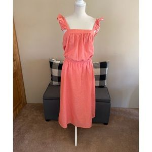 NWT Old Navy Coral Maxi Dress Size XL
